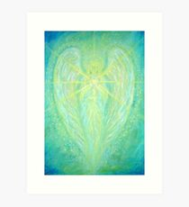 Archangel Raphael Art Print