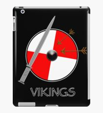 Sword and shield - black iPad Case/Skin