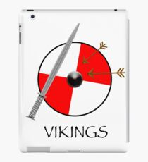 Sword and shield - white iPad Case/Skin