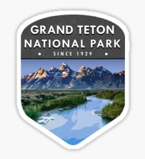 Grand Teton  National Park 2 Sticker