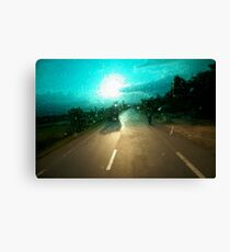 windscreen Canvas Print