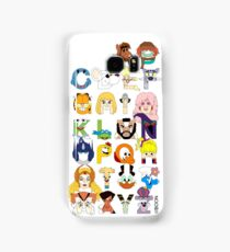 Child of the 80s Alphabet Samsung Galaxy Case/Skin