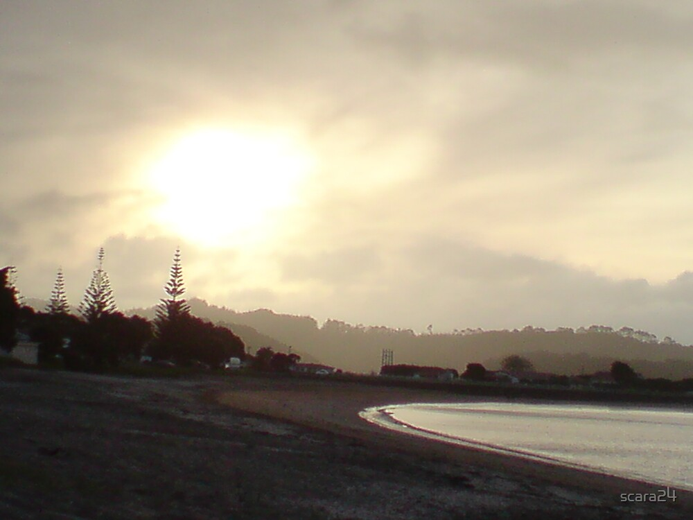 Paihia Sunset by scara24