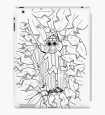 Out in the Jungle Where Danger Lurks iPad Case/Skin