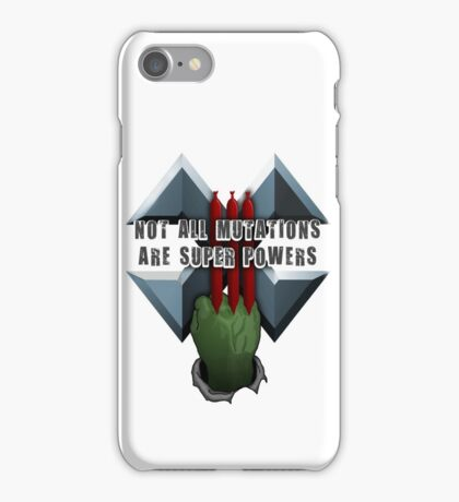 Not all mutations are super powers iPhone Case/Skin
