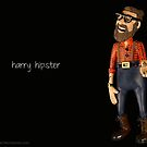 Harry Hipster- © Clay Cartoons by TheClayman.com / Paul Moldovanos by theclayman