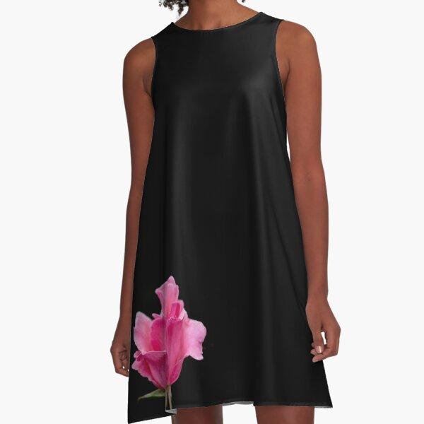 Pink Rose A-Line Dress