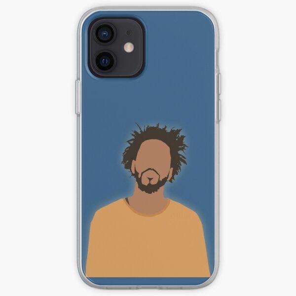J. Cole Cartoon iPhone Soft Case