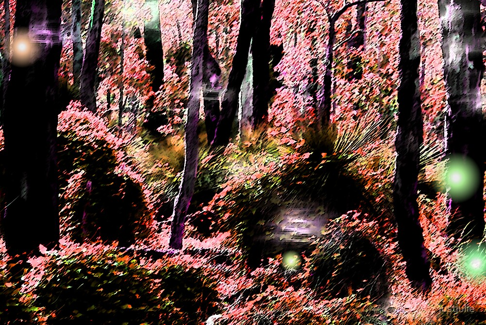 magic forest by justjulie
