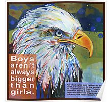 Queen of the sky (Bald eagle) Poster