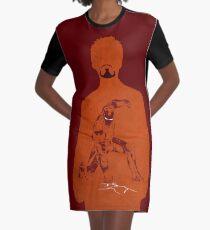 Iron Comic Graphic T-Shirt Dress