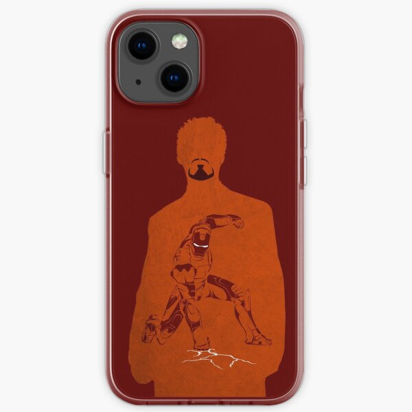 Iron Comic iPhone Soft Case