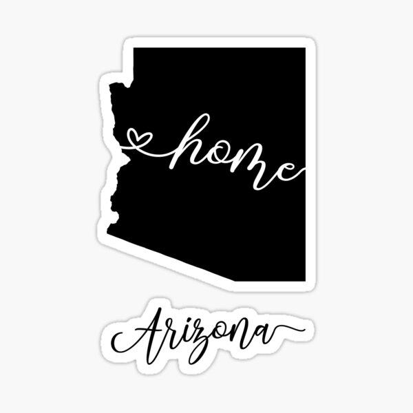 arizona , home Sticker