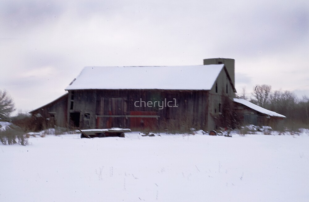 Winter on the Farm by cherylc1