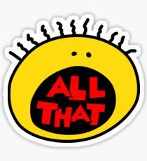 All That Sticker
