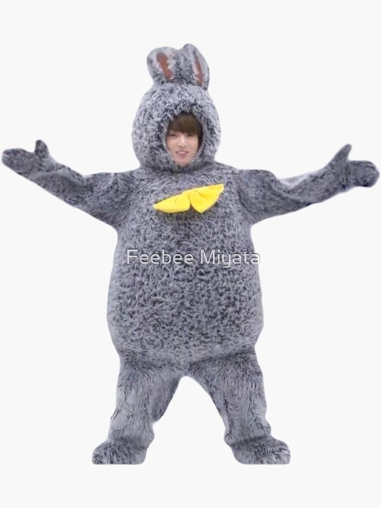 Lindo BTS Jungkook Bunny de phoebemark
