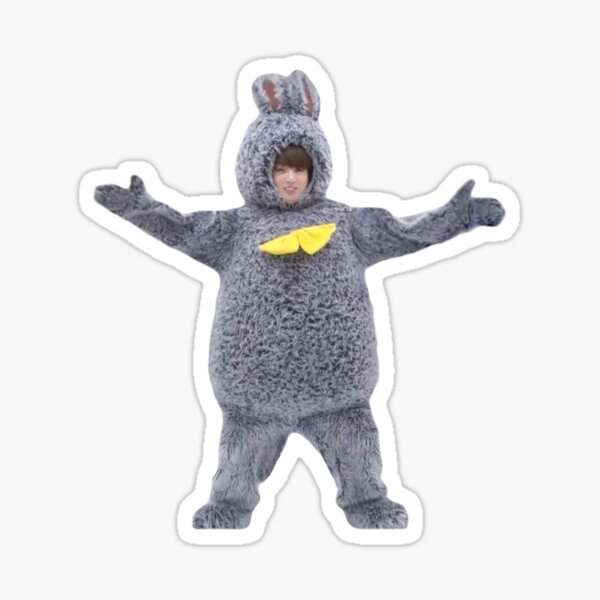 Cute BTS Jungkook Bunny  Sticker
