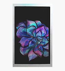 Psychedelic floral Photographic Print