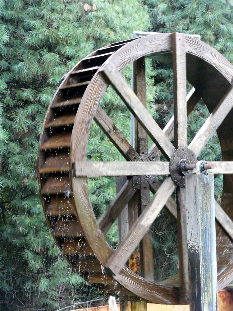 Waterwheel in motion by rasnidreamer