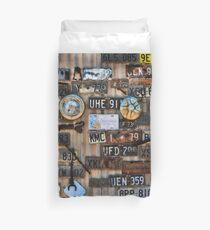 Lost in the Outback - Gwalia WA Duvet Cover