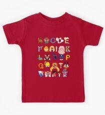 Child of the 80s Alphabet Kids Clothes