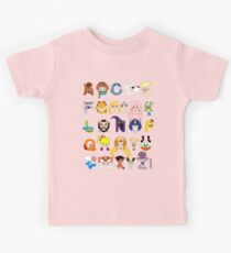 Child of the 80s Alphabet Kids Tee