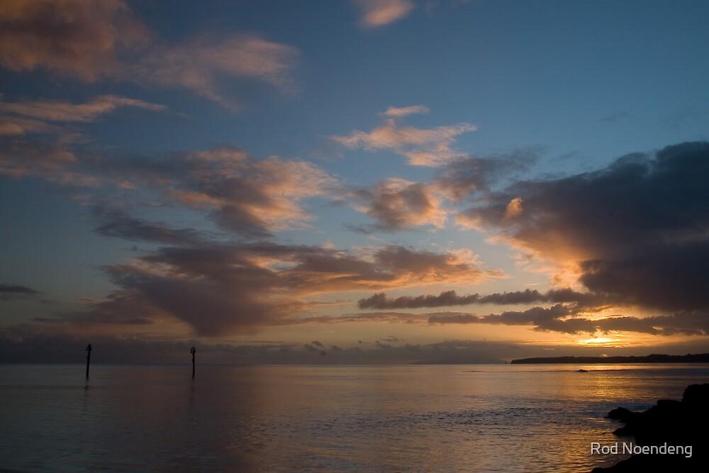 Sunrise - Orwen Beach by Rod Noendeng