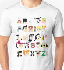 Child of the 60s Alphabet Unisex T-Shirt