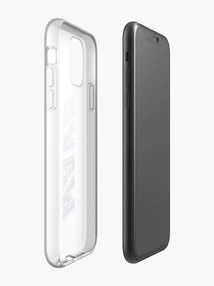 Coque iPhone «Vague», par KingElie