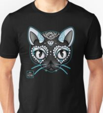Day of the Kitty BLUE Unisex T-Shirt