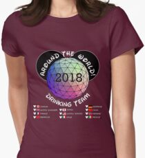 Drink Around the World Women's Fitted T-Shirt