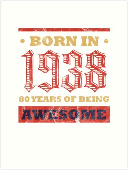 80 Year Old Birthday Gift