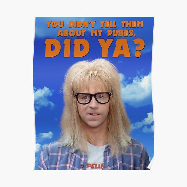 Garth Pubes Poster