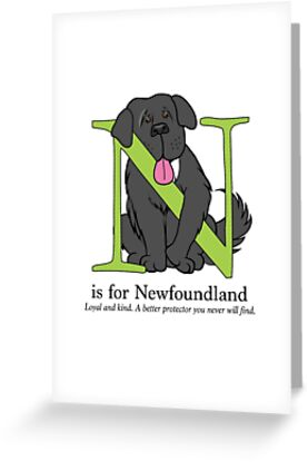 N is for Newfoundland by Christine Mullis