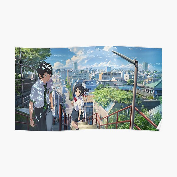 kimi no na wa // your name HIGHEST RES Poster