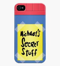 Space Jam - Michael's Secret Stuff iPhone 4s/4 Case