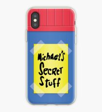 Space Jam - Michael's Secret Stuff iPhone Case