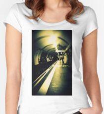 London Underground Women's Fitted Scoop T-Shirt