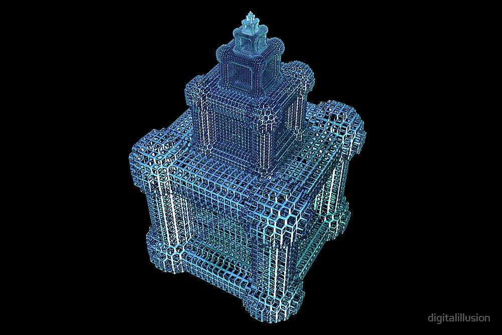 Itterated cubes by digitalillusion
