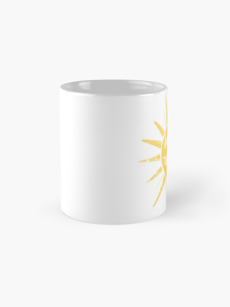 Alternate view of Here Comes the Sun Mug