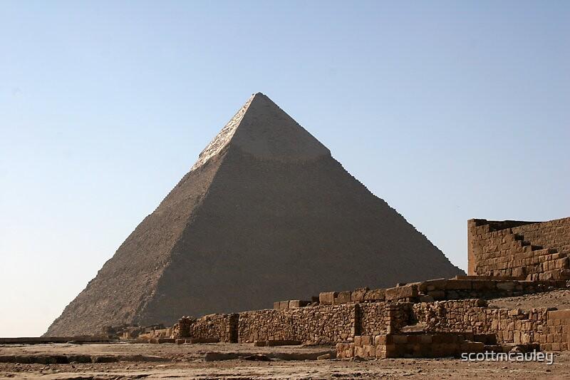 Egyptian Pyramid by scottmcauley