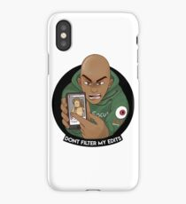Dont Filter My Edits iPhone Case/Skin