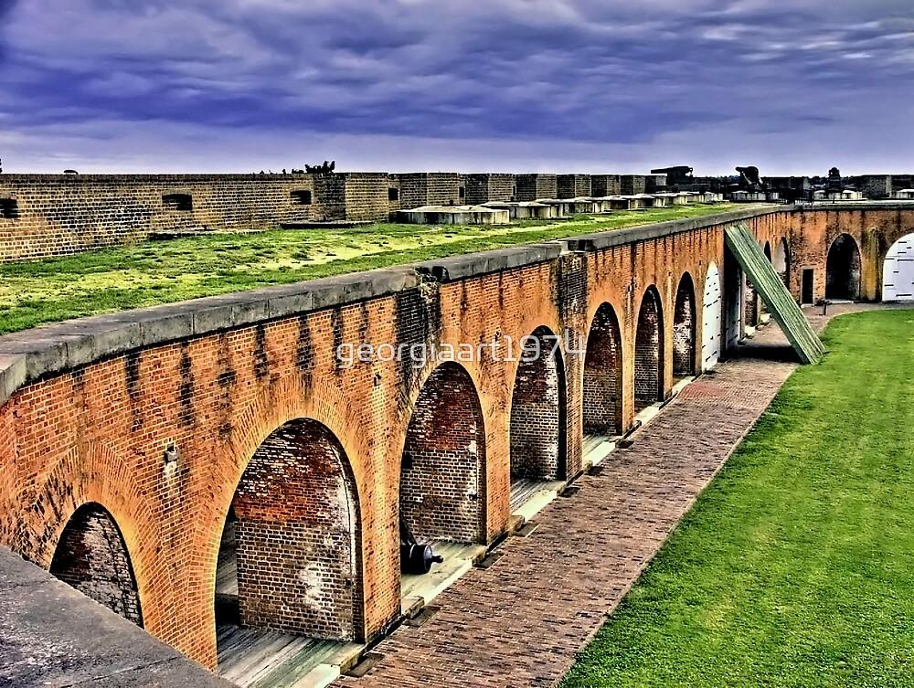 Fort Pulaski National Monument by georgiaart1974