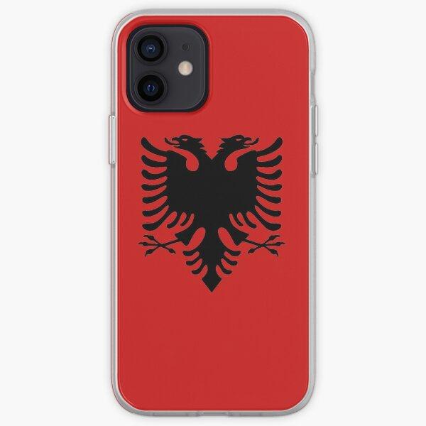 Emblème albanais Coque souple iPhone