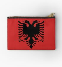 Albanian Emblem Zipper Pouch