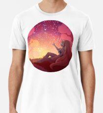 Steven Universe - Opal bei Sonnenuntergang Premium T-Shirt