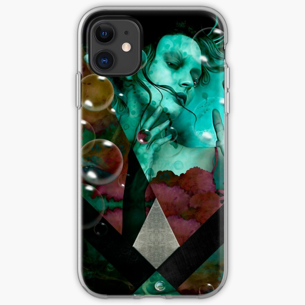 """The witch of the water forest""  Funda y vinilo para iPhone"