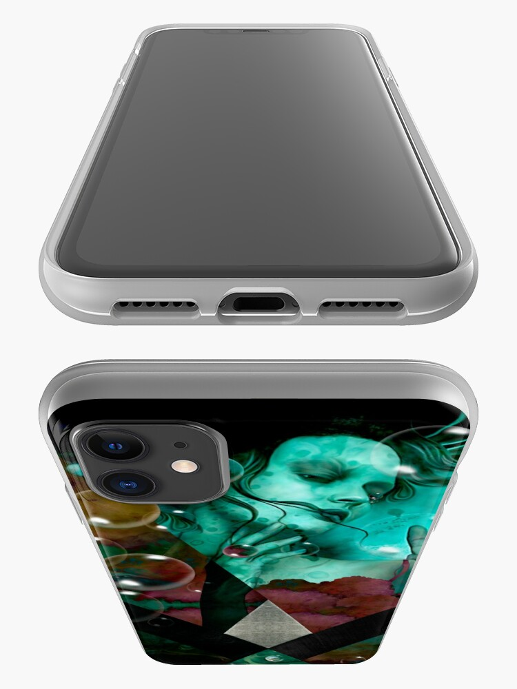 "Vista alternativa de Funda y vinilo para iPhone ""The witch of the water forest"""