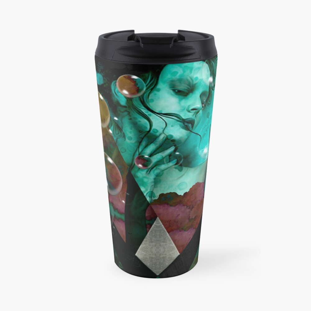 """The witch of the water forest""  Taza de viaje"