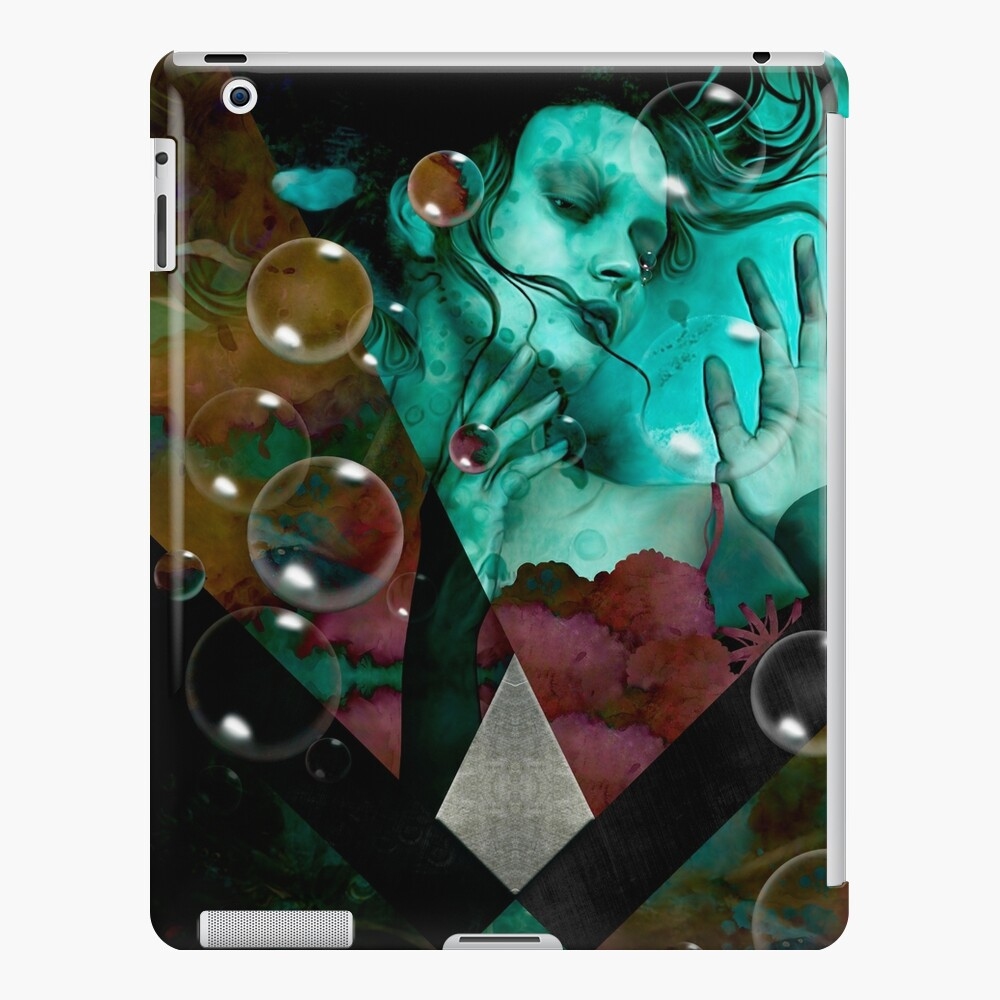 """The witch of the water forest""  Funda y vinilo para iPad"